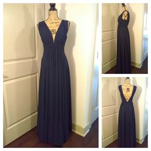 Fame and Partners Dresses - Fame and Partner Gown sz 2 blue NWT